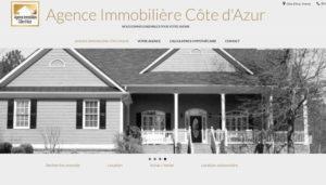 Site internet prêt à l'emploi d'agence immobilière à vendre